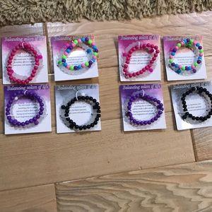 New! Set of 16 bracelets.